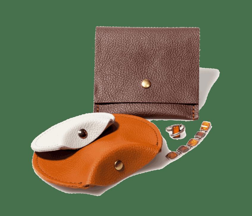 Echtleder Verpackungen für Schmuck - Ehering Beutel und Taschen