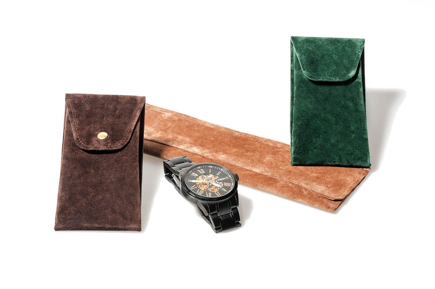 Veloursleder Verpackungen für Uhren