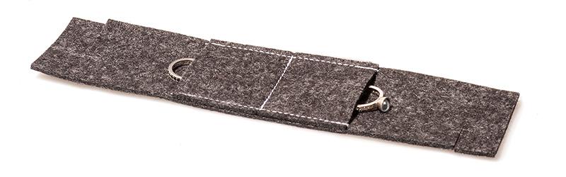 Filztasche für Ringe von U-H-Bernhardt